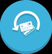 Atualização automática do cartão