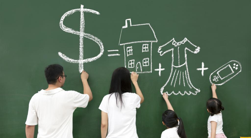 Educação financeira para sua família.